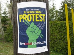 SaveLocalSchoolsSign