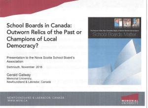 School Boards | Educhatter