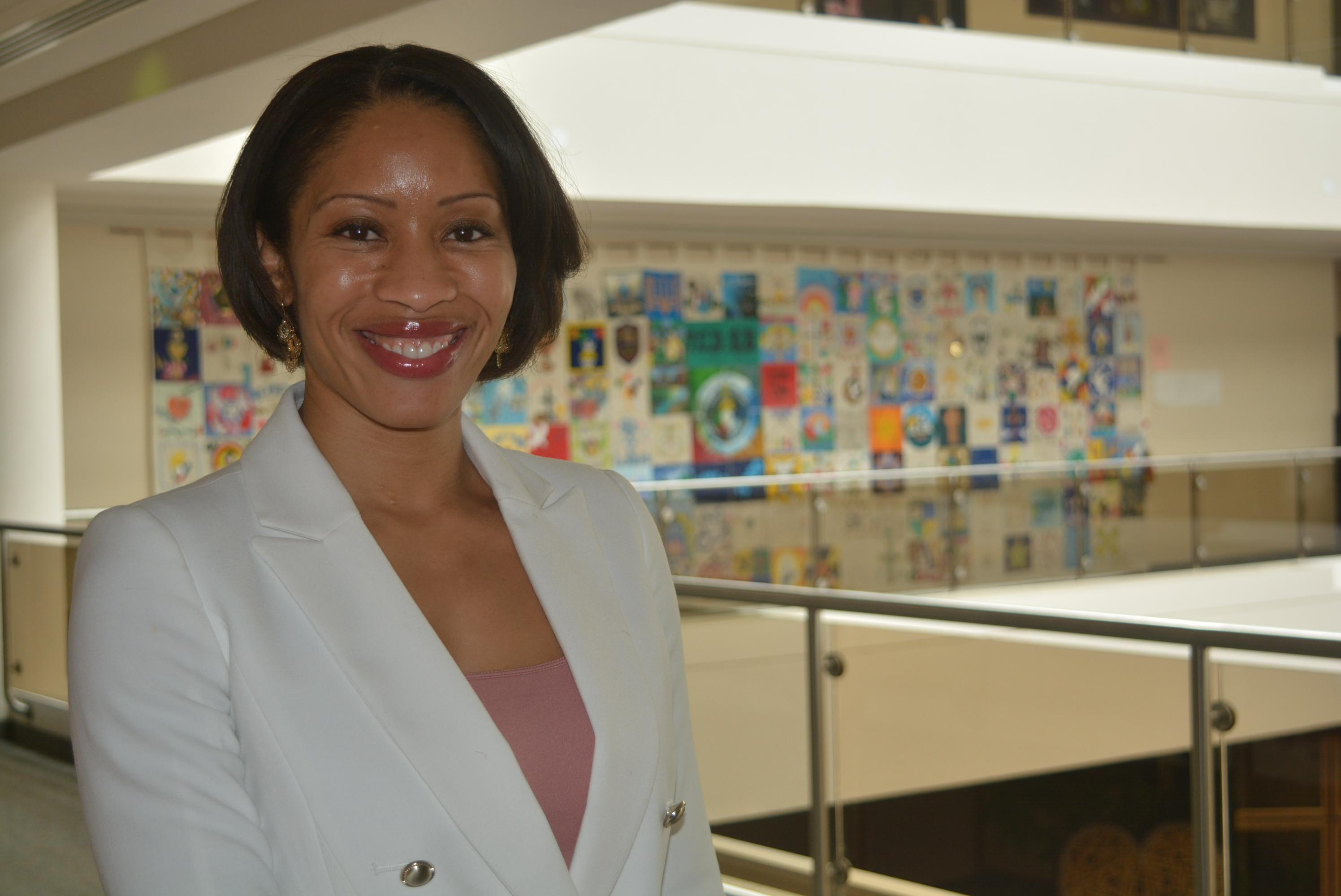 Chief Financial Officer Carlene Jackson